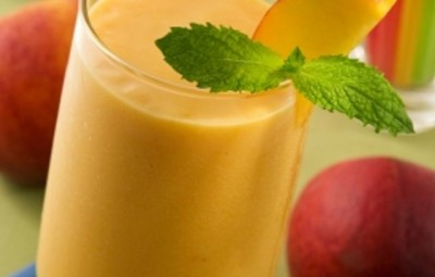 Smoothie raw detox delicios